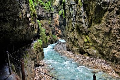 Partnach River Gorge, Garmisch-PartenKirchen, Germany