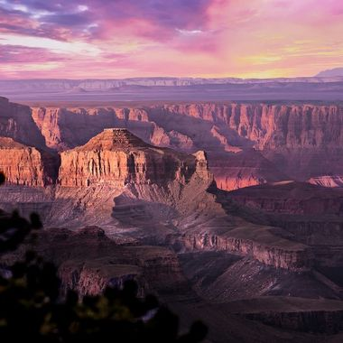 Dusk at Grand Canyon