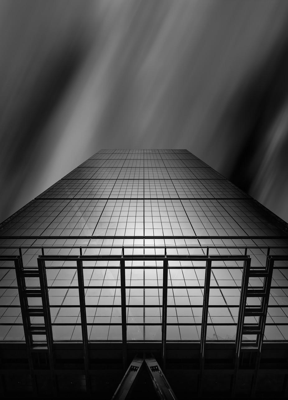 Leadenhall Building B&W fine-art by farigiovanni - Geometry And Architecture Photo Contest