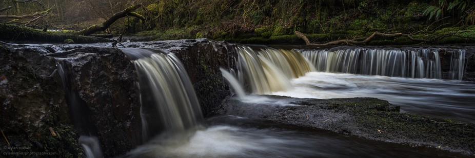 1-second exposure - Lynn Glen, Darly, Scotland.   Taken with Sony A7 & Zuiko 24mm
