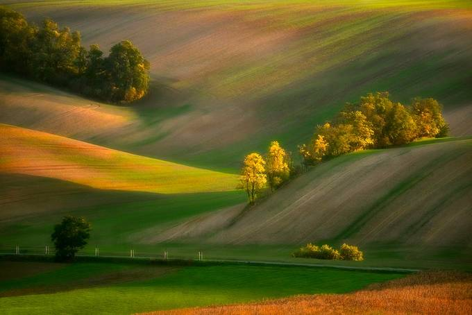 Moravian evening by jansieminski - It is Yellow Photo Contest
