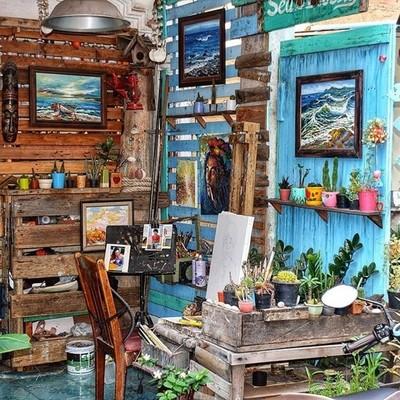 Pattaya Market Art Workshop .