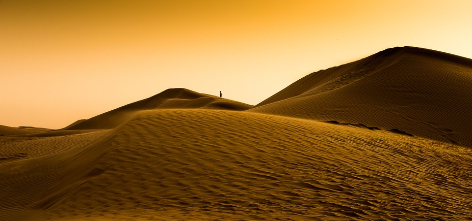 I went out to catch the sun down at Al Qudra in Dubai. I just love the texture of the sand, the s...