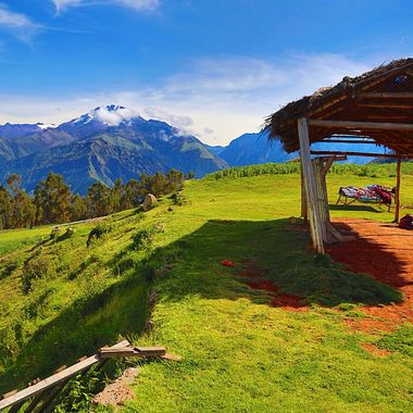 Magnificent Andean views!
