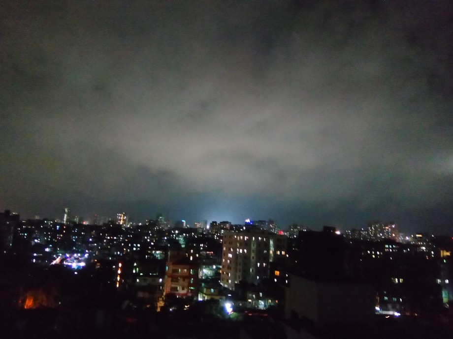 Night Dhaka City at Khilgaon