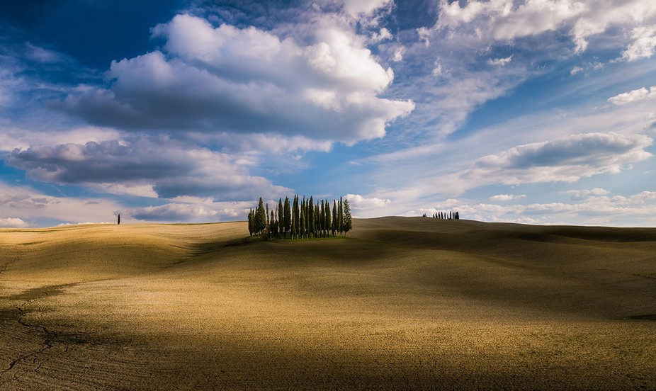 Lone of the most beautiful places in Tuscany.