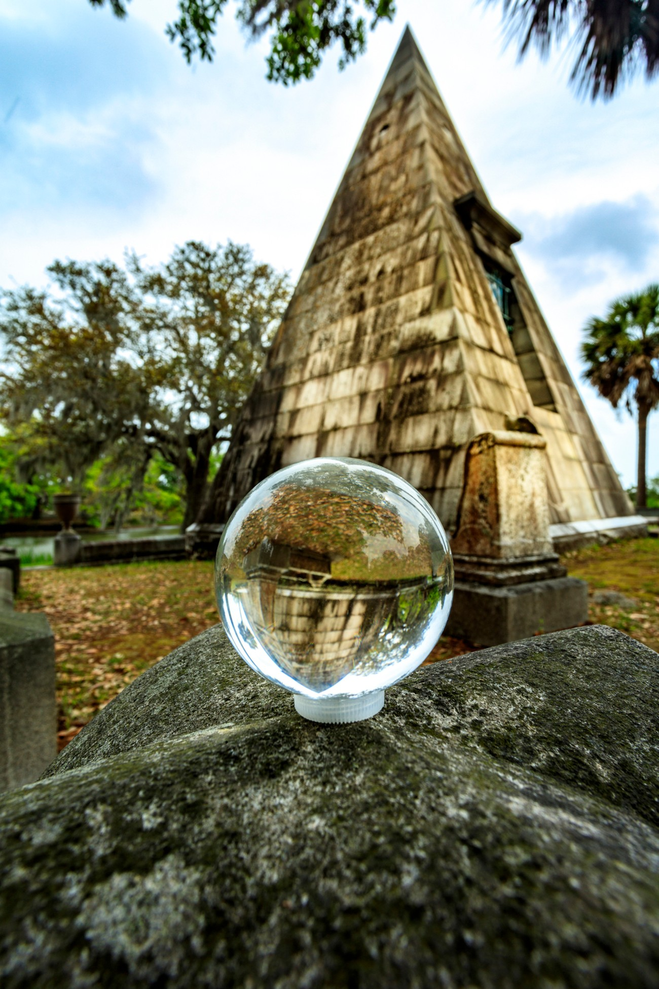 Magnolia Cemetery in Charleston, South Carolina. It is a very peaceful and beautiful.