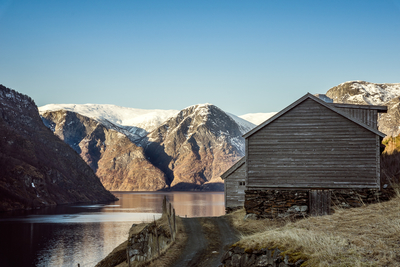 The fjords and mountains of Norway