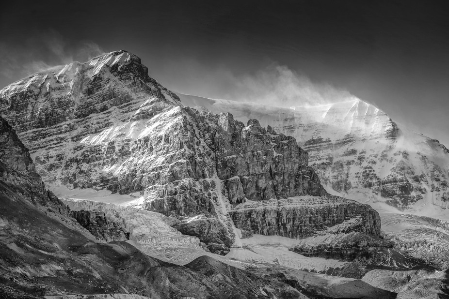Taken at the Columbia Icefields in the Canadian Rockies.