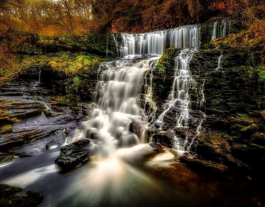 Another Waterfall located in the Brecon beacons national park in Wales, this is just one of the m...
