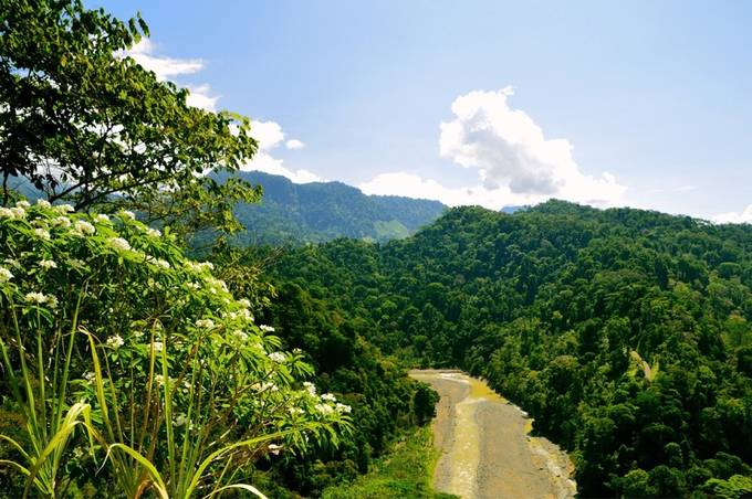•The beautiful Savegre River in Costa Rica•