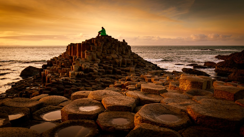 A thinking throne carved for royalty, don't you think? Over 40,000 interlocking basalt columns ...