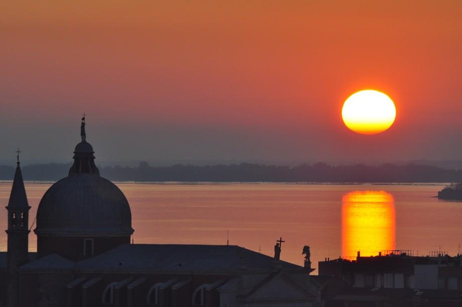 From the top of St Georgio Maggiore
