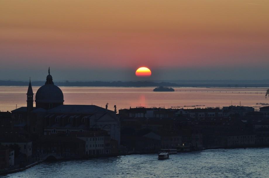 November Sunset, Italy