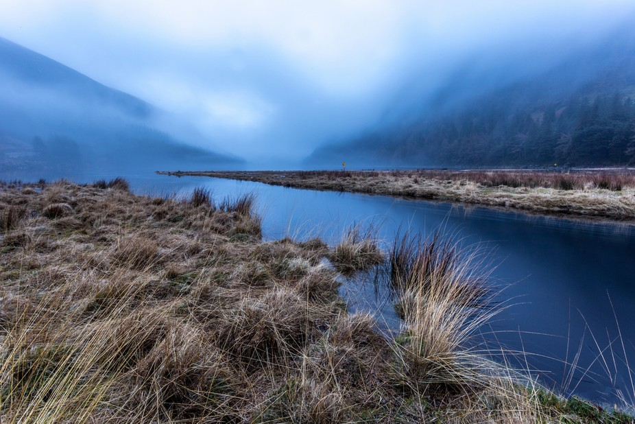 Glendalough In Fog