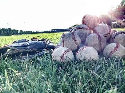 Glove and Baseballs