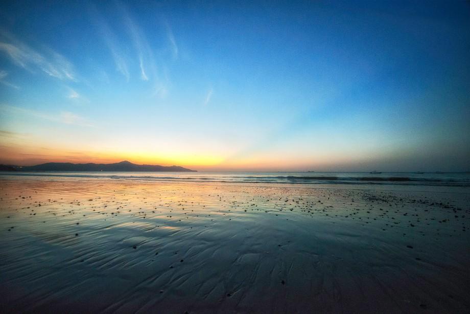 Playa brasilito after sunset