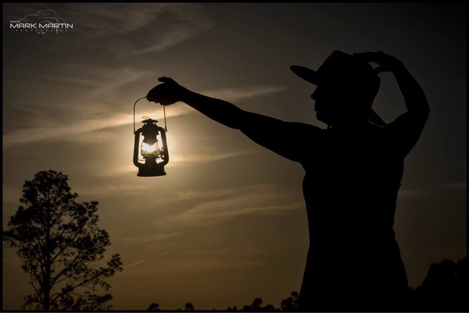 Sunset Lantern