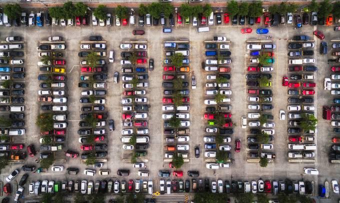 Car Park by johnkimwell - Stunning POV Photo Contest