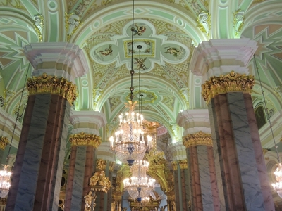 DSCN1414 Cathedral of Czars St. Petersburg, Russia