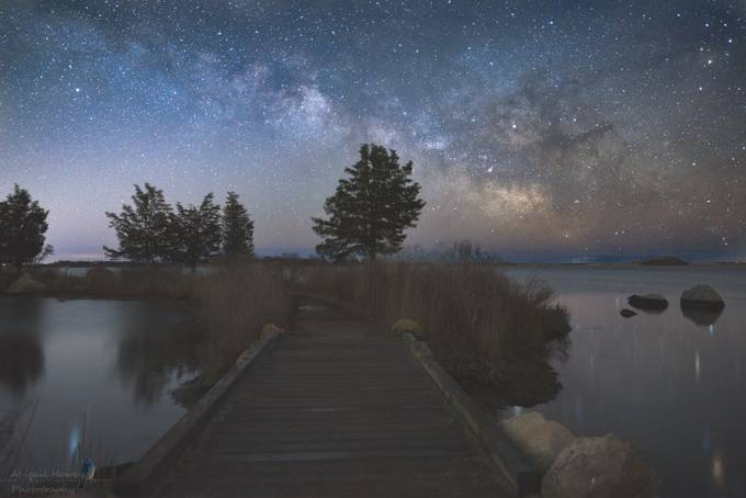 Rising above by dearabbybird - Capture The Milky Way Photo Contest