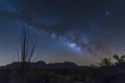Milky Way over Big Bend