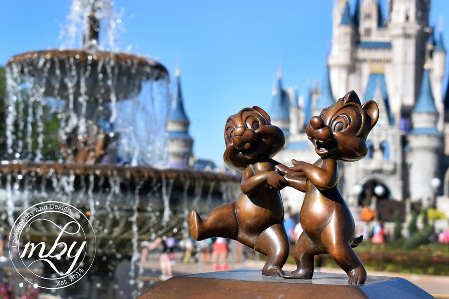 One of my favorite shots of an intimate object in Disney, I got three elements: Chip and Dale, th...