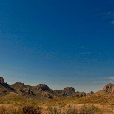 Chisos Mountain Range.  Big Bend National Park, Texas