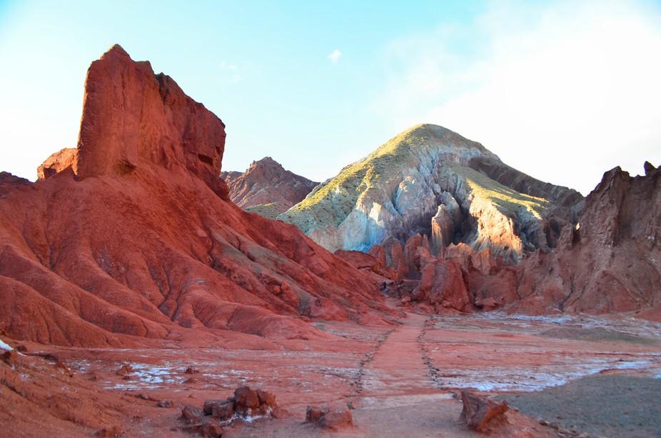 Valle del Arociris - Calama