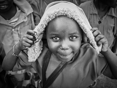 A little girl from Rwanda