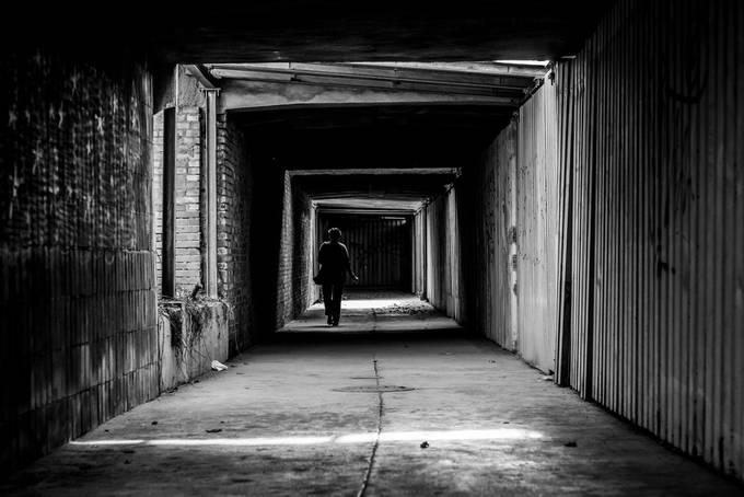 tunnel wreck by konradhryciuk - Shooting Tunnels Photo Contest