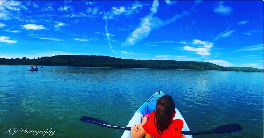 Kayaking @ Dorchester Park, Whitney Point, New York