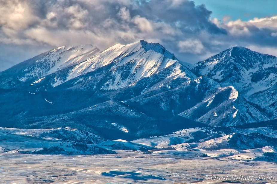 Absaroka Mountain Range - Montana