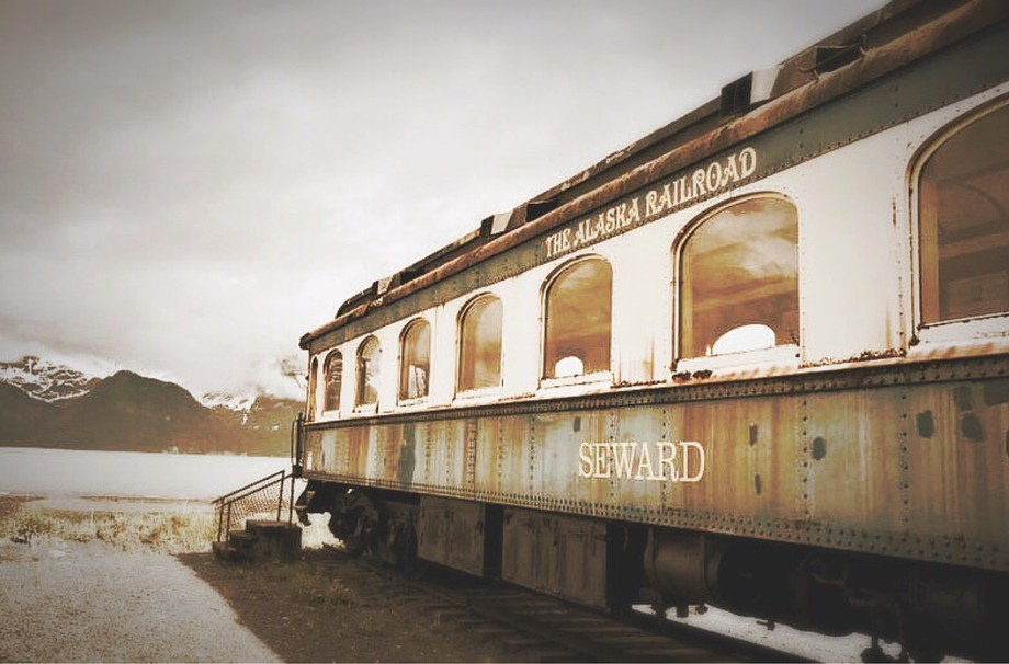 Alaskan Railcar, and It's Final View