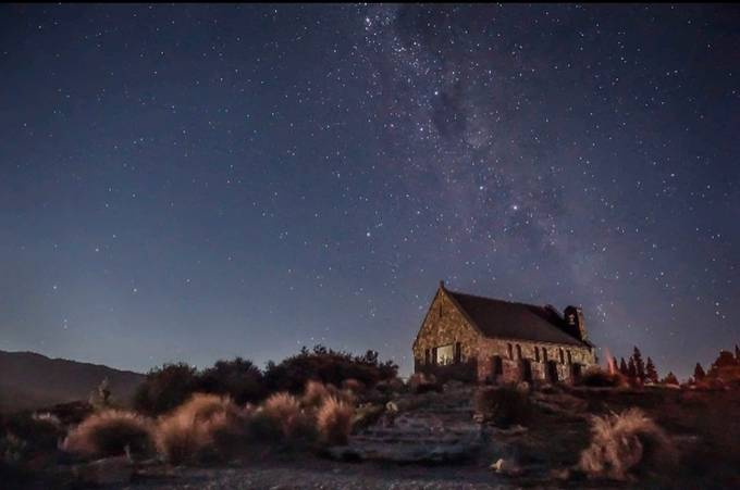 Stars over Tekapo by Katee33 - Capture The Milky Way Photo Contest