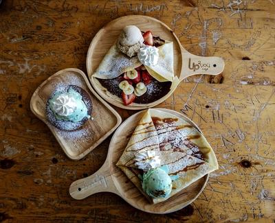 Dessert for Three ~ Up2U Cafe
