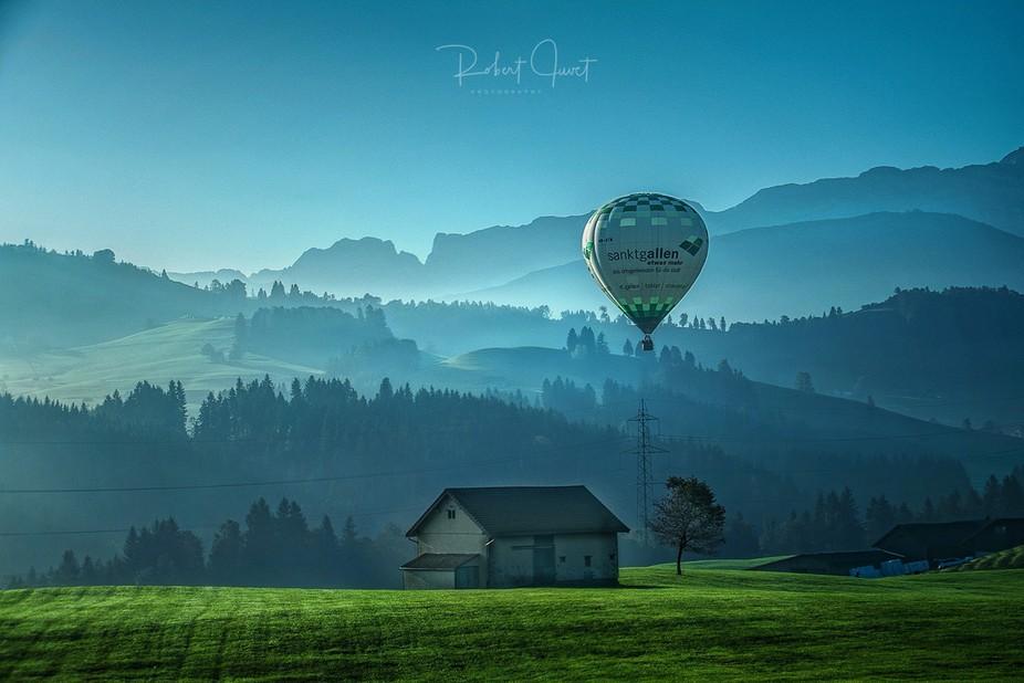 Balonfahrt