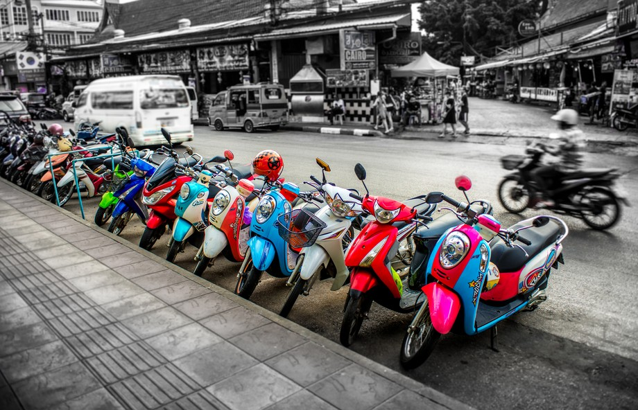 vibrant scooters