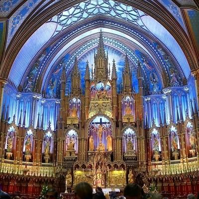 Basilique Notre-Dame de Montréal - High Altar