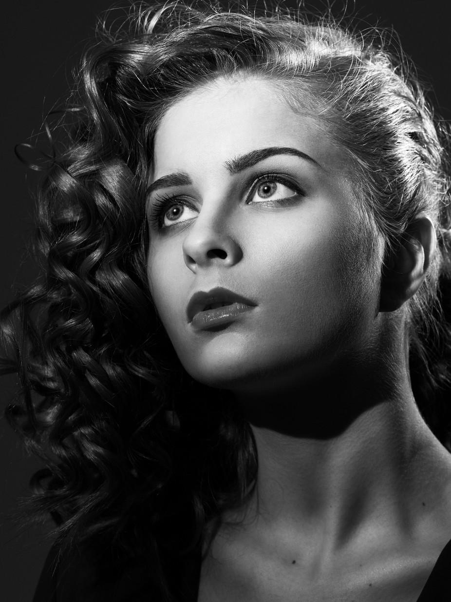 Noir by michelebalistreri - Black And White Female Portraits Photo Contest