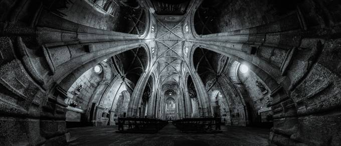 Cathedral of Guarda by AntonioBernardino - Ceilings Photo Contest