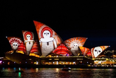 Vivid Sydney is one of the worlds biggest Festivals of Light