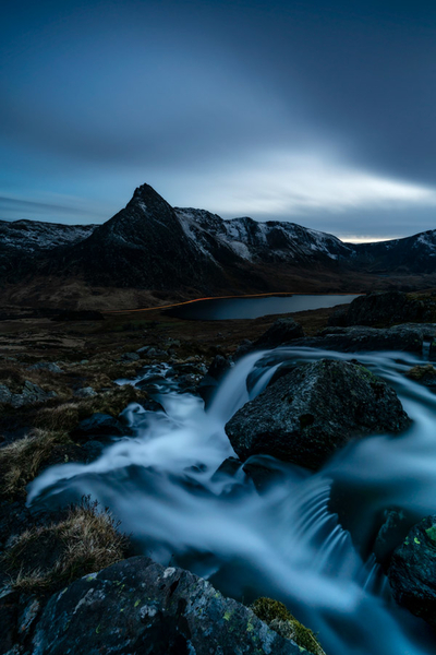 Tryfan under the cover of darkness