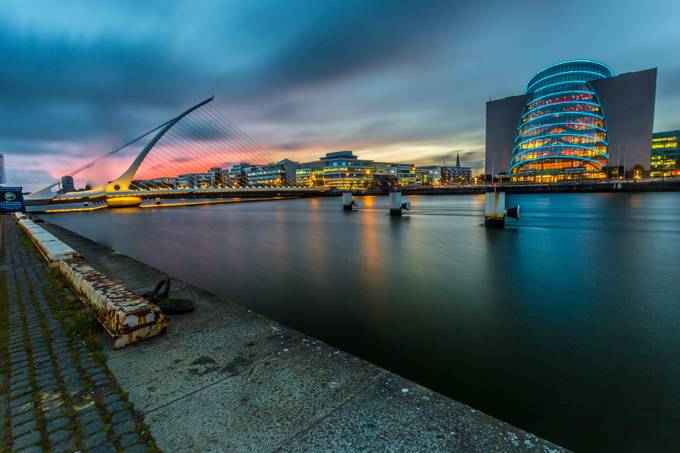 The Quays - Dublin City by naoisekelly - Sunset And The City Photo Contest