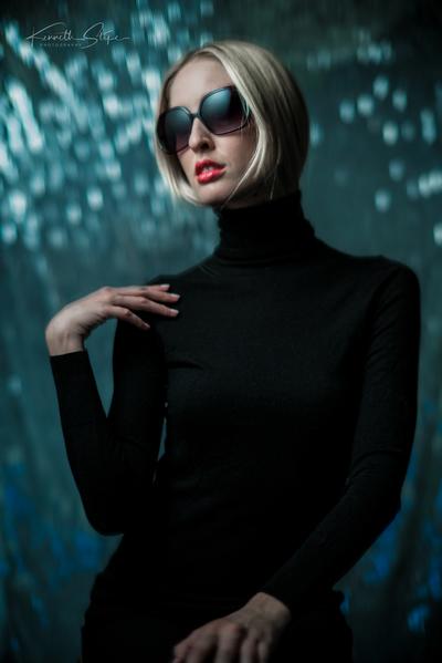 Olivia in Black