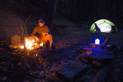 Camping brings Peace