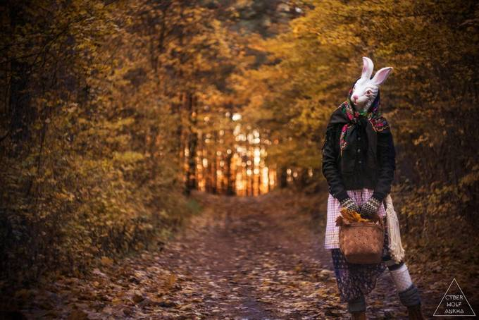 The Rabbit #1 by Cyberwolfankha - Creative Reality Photo Contest