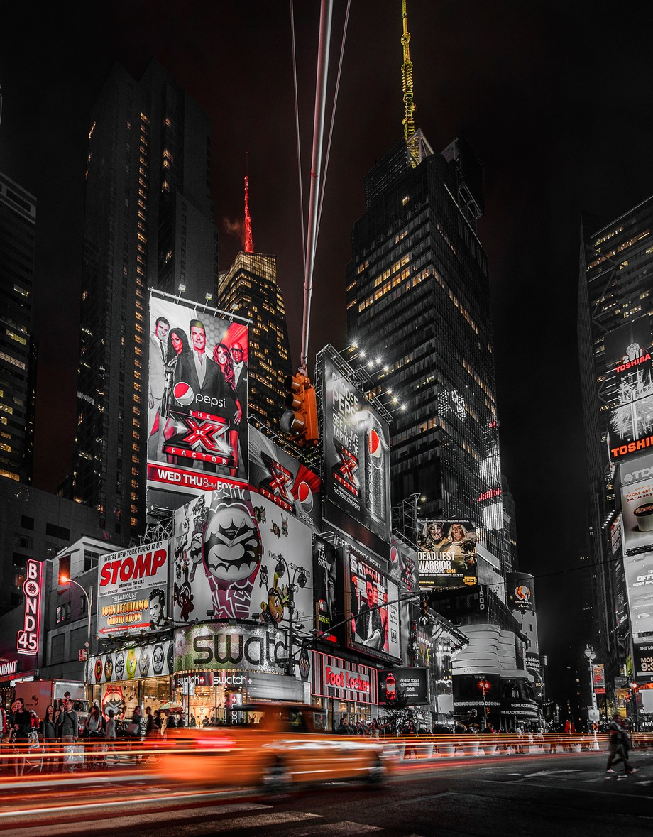 Times Square New York by gilesrrocholl - New York Photo Contest