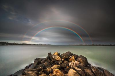 double rainbow_Ballina_7565