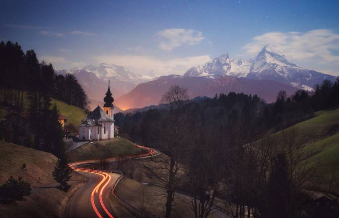 Full Moon Maria by robinkphotography - Winter Long Exposures Photo Contest